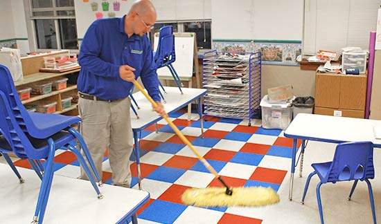 commercial-cleaning-school-floor