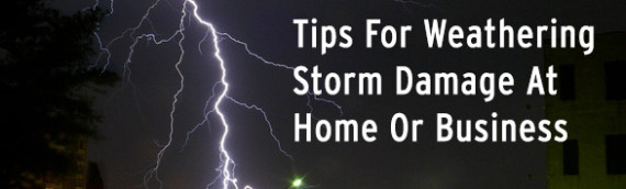 Tips For Weathering Storm Damage